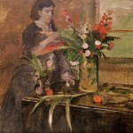 young _woman_arra_flowers,Degas,1872